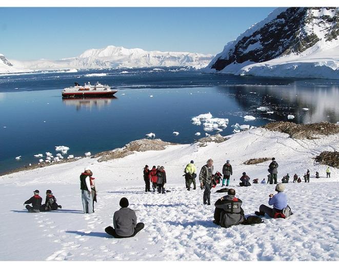 Hurtigruten M/S Nord-Norge i Antarktis 2007