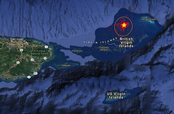 Massive Fire Reportedly Seen on Private Island Owned By Billionaire/Sexual Predator, Jeffrey Epstein Epstein-island-map-588x386