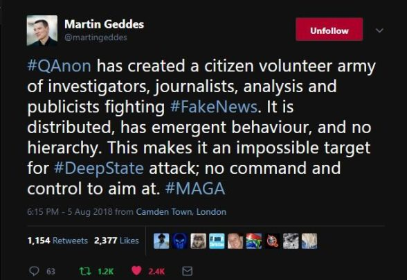 #QAnon News - Coming Soon to a Theater Near You plus more Martin-geddes-emergent-behaviour-588x404