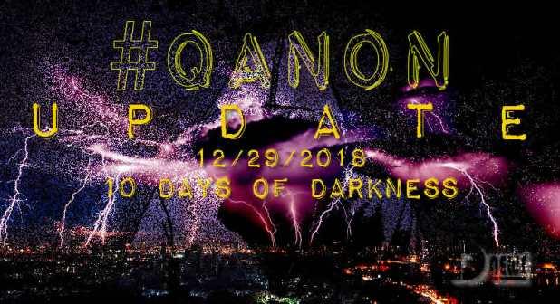 #Q Anon DRAMA THEATER: SerialBrain2 decodes Q: Confused? QAnon 10 Days of Darkness Qanon-10-days-of-darkness-cover