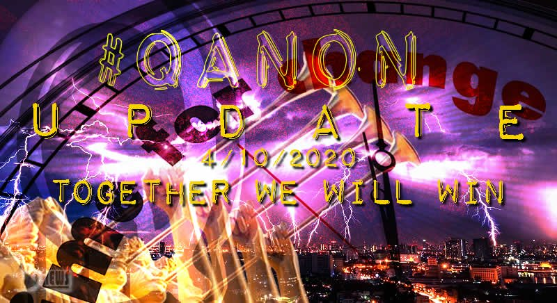 "#QTard Drama Theater - ""Salvage Program"" plus more Qanon-10-april-2020-together-we-will-win-cover"